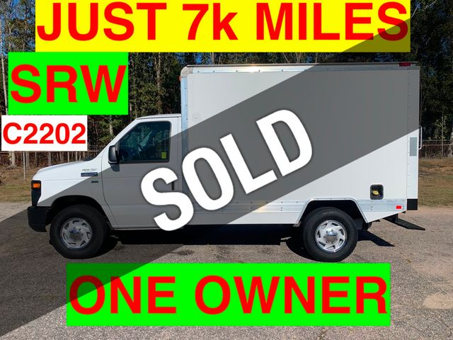 2011 Ford E350HD SRW CUBE VAN JUST 7k MILES ONE OWNER PERFECT FOR CONTRACTOR!! HVAC PLUMBER!!