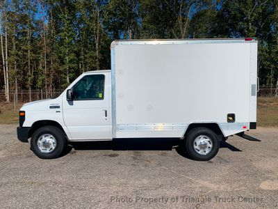 2011 Ford E350HD SRW CUBE VAN KUV JUST 7k MILES ONE OWNER PERFECT FOR CONTRACTOR!! HVAC PLUMBER!! - Click to see full-size photo viewer