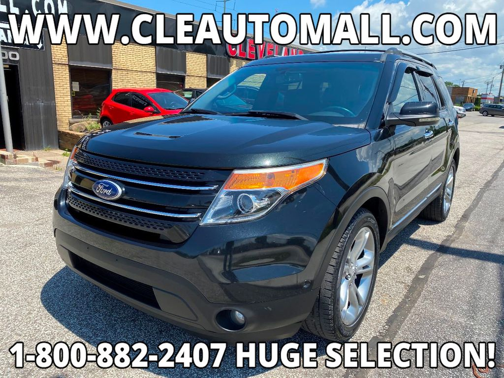 2011 Ford Explorer LEATHER NAVIGATION R-CAMERA PANO ROOF SYNC FAST BANK APPROVAL  - 17965642 - 0