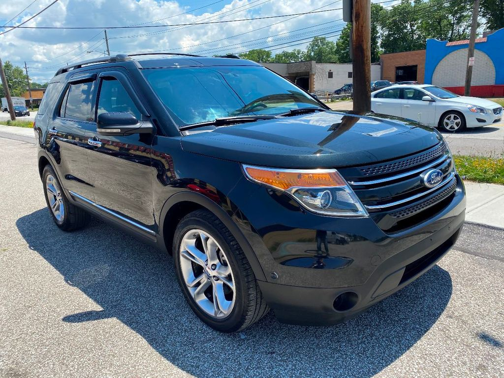 2011 Ford Explorer LEATHER NAVIGATION R-CAMERA PANO ROOF SYNC FAST BANK APPROVAL  - 17965642 - 2