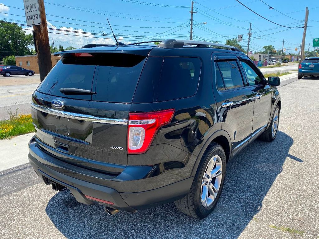 2011 Ford Explorer LEATHER NAVIGATION R-CAMERA PANO ROOF SYNC FAST BANK APPROVAL  - 17965642 - 6