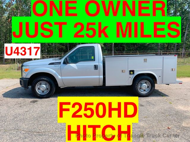 2011 Ford F250HD UTILITY SERVICE BODY JUST 25k MILES ONE OWNER NC TRUCK!!