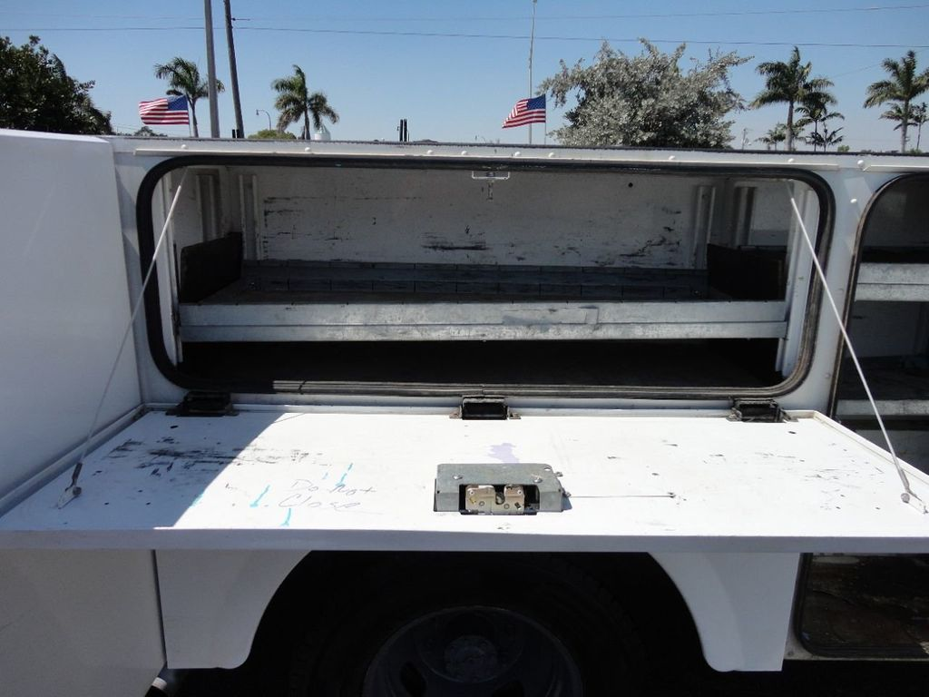 2011 Ford F350 4X2 V8 GAS..12FT UTILITY TRUCK BED.. - 17456204 - 16