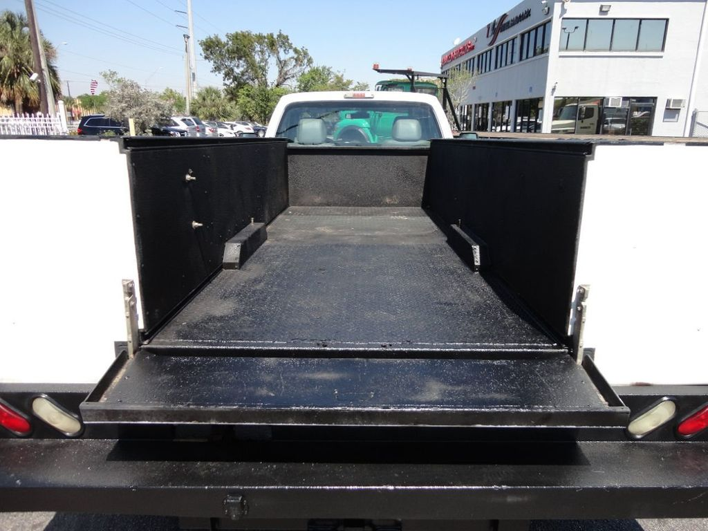 2011 Ford F350 4X2 V8 GAS..12FT UTILITY TRUCK BED.. - 17456204 - 18