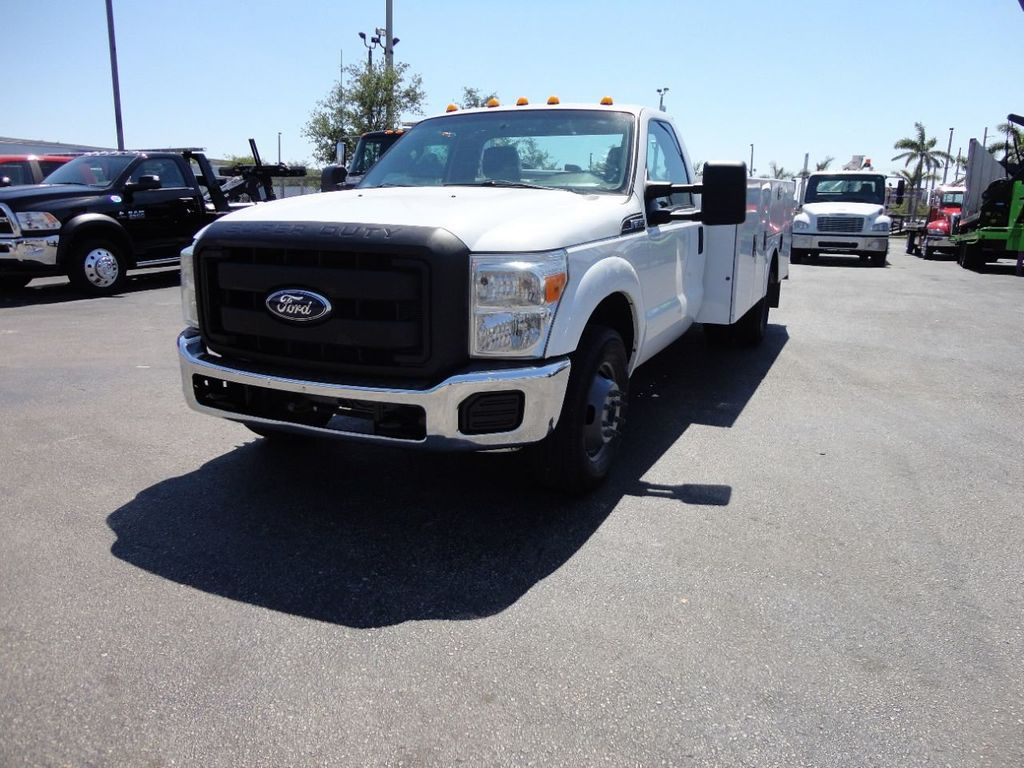 2011 Ford F350 4X2 V8 GAS..12FT UTILITY TRUCK BED.. - 17456204 - 1