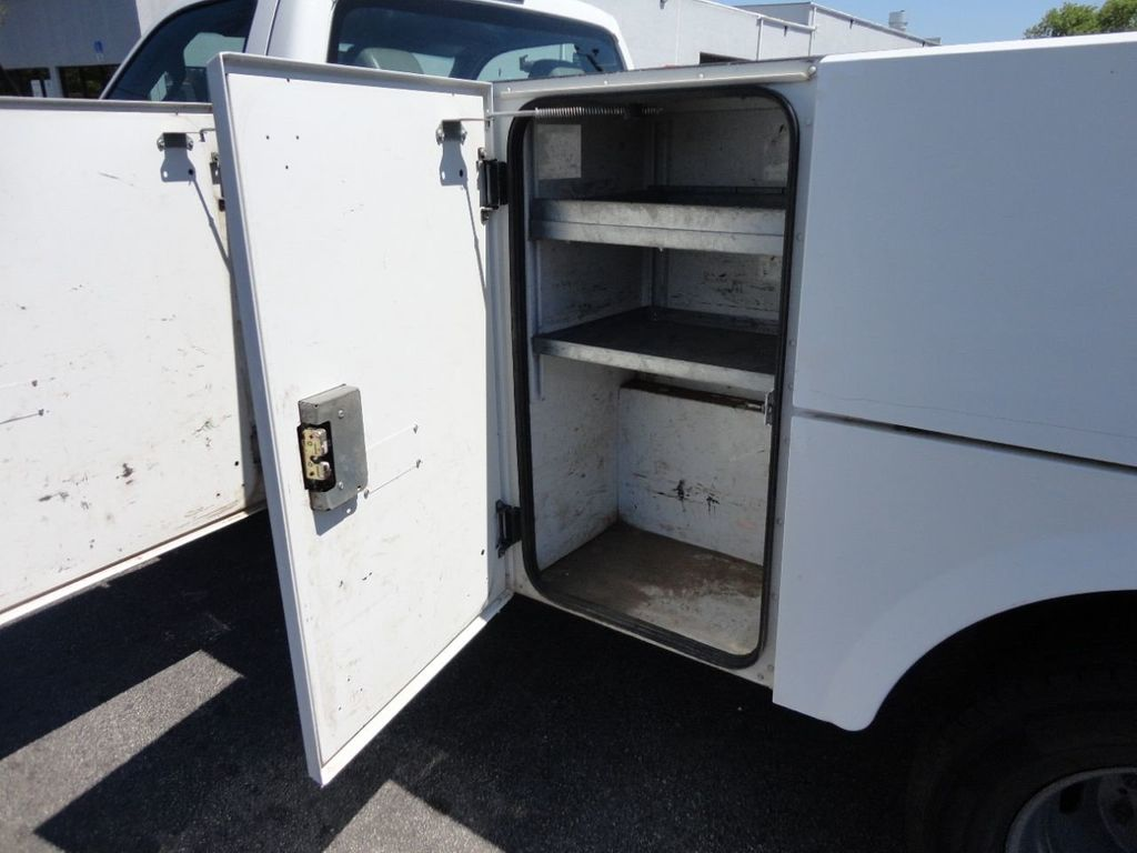2011 Ford F350 4X2 V8 GAS..12FT UTILITY TRUCK BED.. - 17456204 - 21