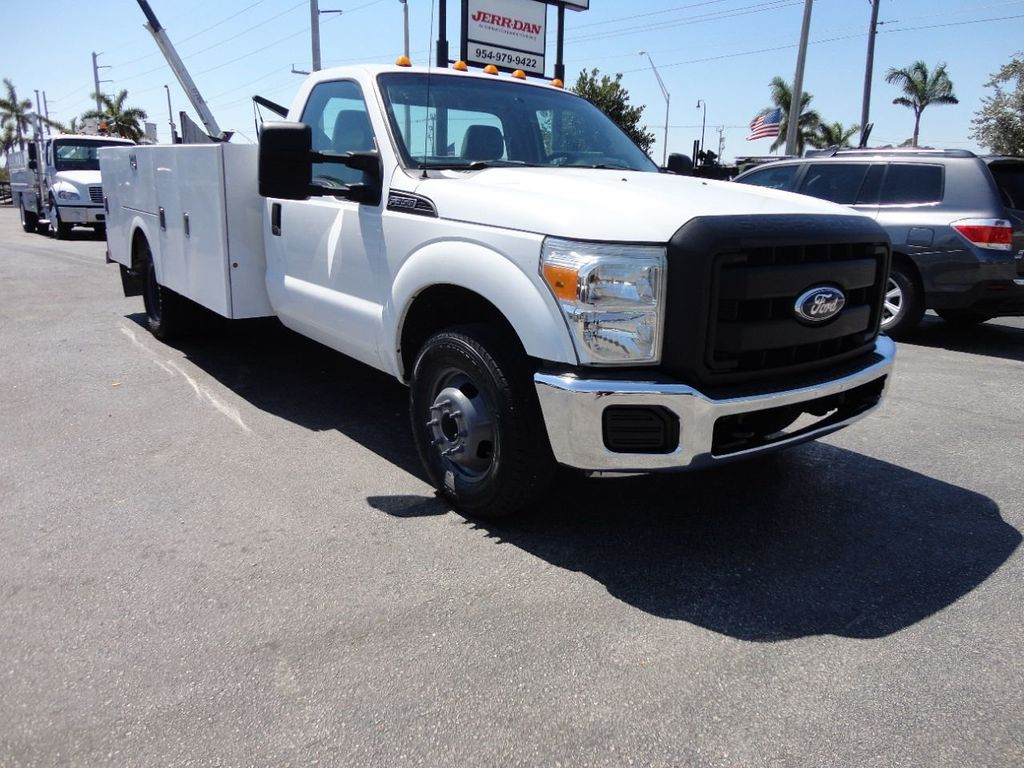 2011 Ford F350 4X2 V8 GAS..12FT UTILITY TRUCK BED.. - 17456204 - 3