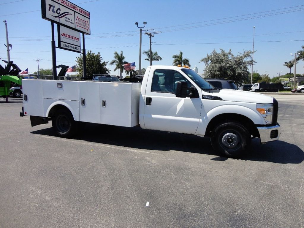 2011 Ford F350 4X2 V8 GAS..12FT UTILITY TRUCK BED.. - 17456204 - 4