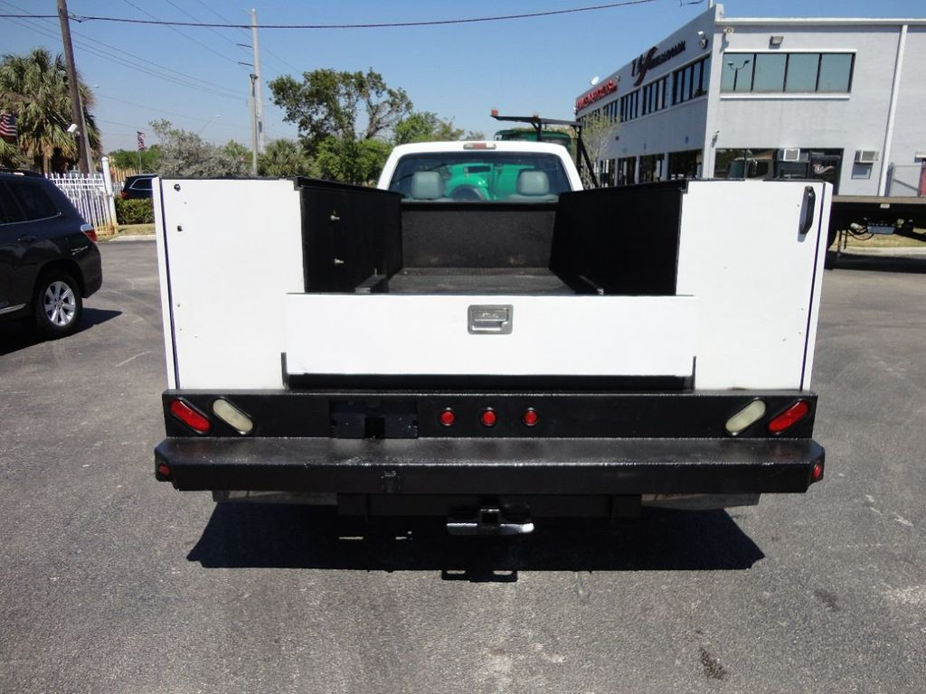 2011 Ford F350 4X2 V8 GAS..12FT UTILITY TRUCK BED.. - 17456204 - 7