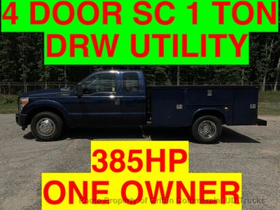 2011 Ford F350HD 4 DOOR SC DRW UTILITY JUST 44k MILES ONE OWNER 385HP TRITON- EVERYBODY RIDES!! - Click to see full-size photo viewer