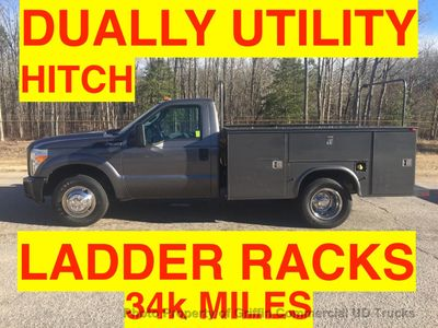 2011 Ford F350HD DRW UTILITY SERVICE BODY JUST 34k MILES ONE OWNER HITCH RECEIVER - Click to see full-size photo viewer