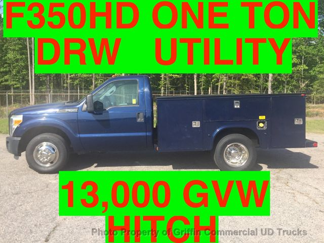 2011 Ford F350HD JUST 45k MILES DRW UTILITY SERVICE BODY ONE OWNER HITCH RECEIVER