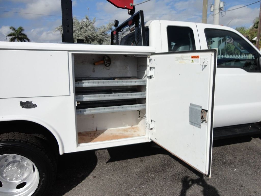 2011 Ford F450 4X4 11FT UTILITY TRUCK BED WITH 16FT 4,000LB CRANE - 17366759 - 17