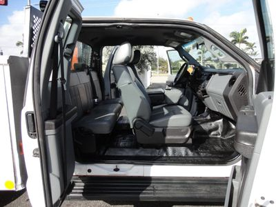 2011 Ford F450 4X4 11FT UTILITY TRUCK BED WITH 16FT 4,000LB CRANE - Click to see full-size photo viewer