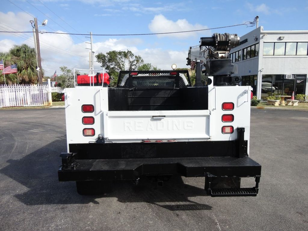 2011 Ford F450 4X4 11FT UTILITY TRUCK BED WITH 16FT 4,000LB CRANE - 17366759 - 7