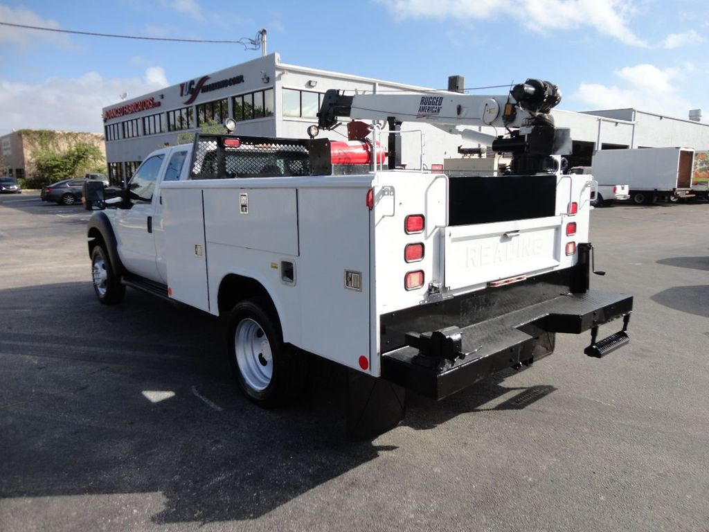 2011 Ford F450 4X4 11FT UTILITY TRUCK BED WITH 16FT 4,000LB CRANE - 17368049 - 9