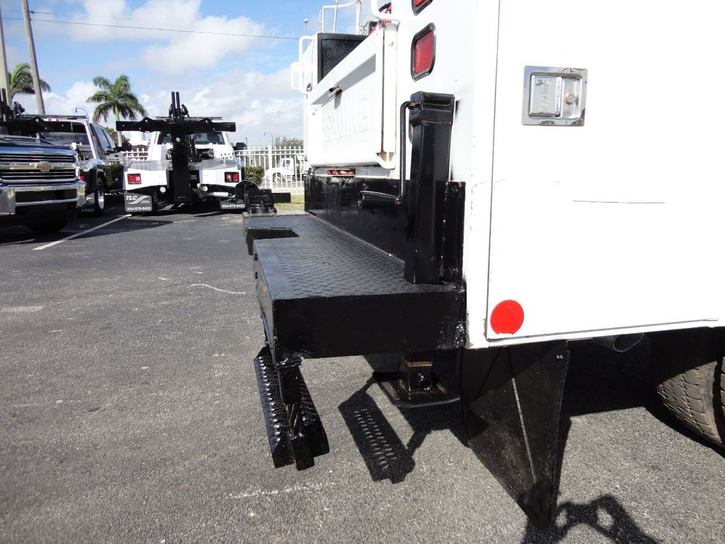 2011 Ford F450 4X4 11FT UTILITY TRUCK BED WITH 16FT 4,000LB CRANE - 17368049 - 21