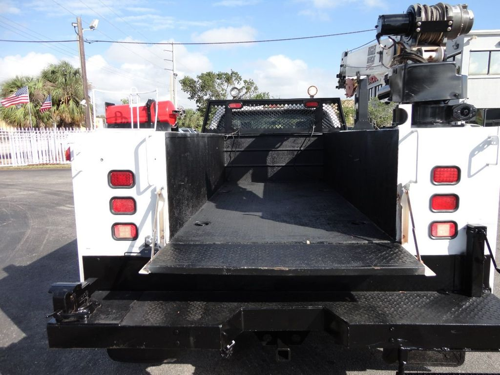 2011 Ford F450 4X4 11FT UTILITY TRUCK BED WITH 16FT 4,000LB CRANE - 17368049 - 23