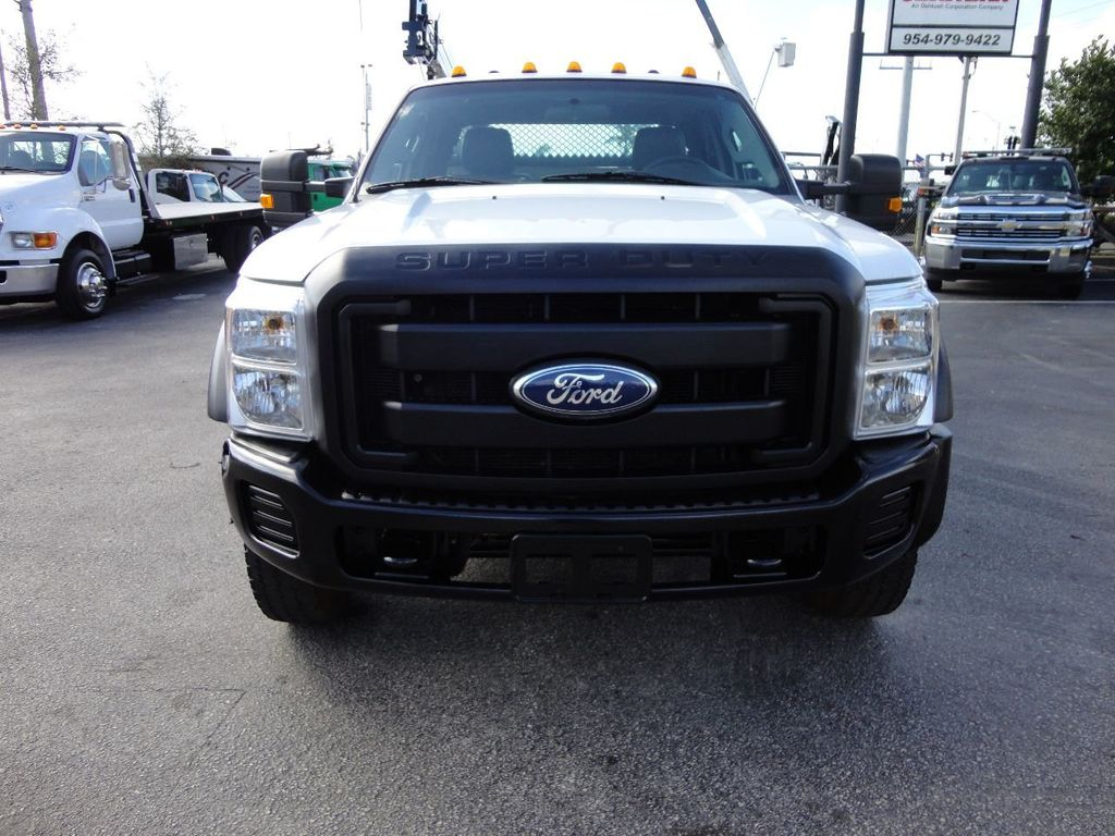2011 Ford F450 4X4 11FT UTILITY TRUCK BED WITH 16FT 4,000LB CRANE - 17368049 - 2