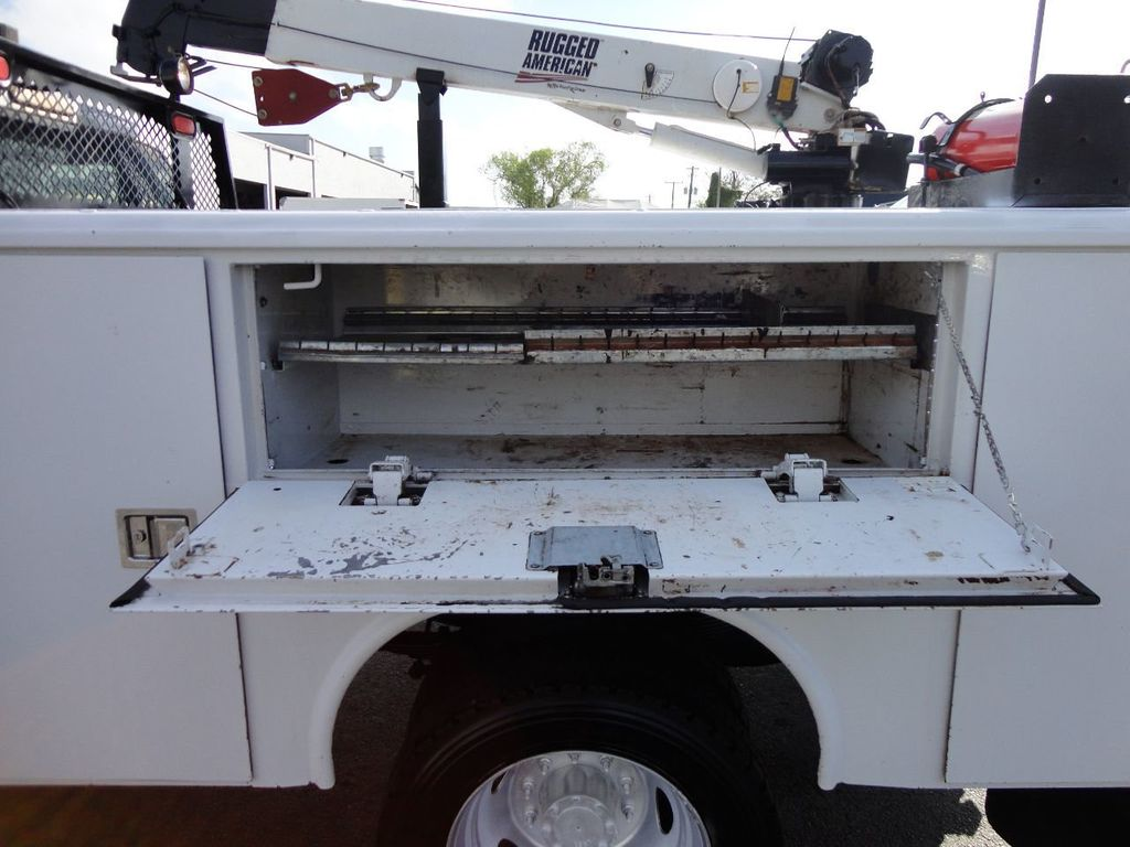 2011 Ford F450 4X4 11FT UTILITY TRUCK BED WITH 16FT 4,000LB CRANE - 17368049 - 32
