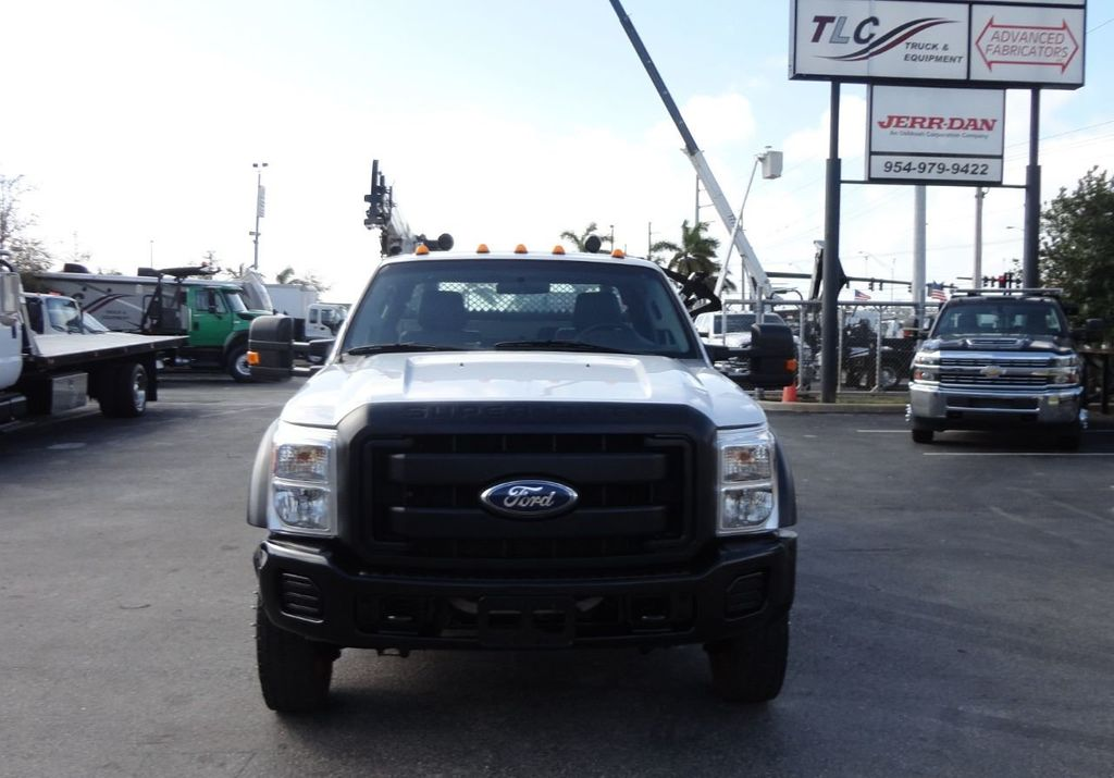 2011 Ford F450 4X4 11FT UTILITY TRUCK BED WITH 16FT 4,000LB CRANE - 17368049 - 3