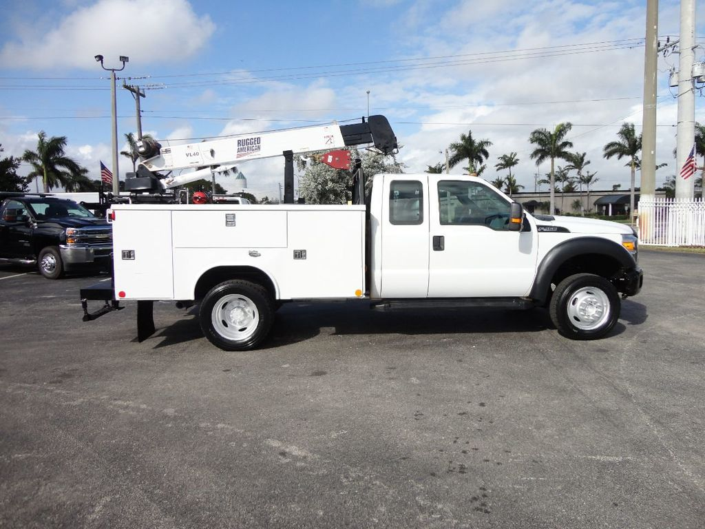 2011 Ford F450 4X4 11FT UTILITY TRUCK BED WITH 16FT 4,000LB CRANE - 17368049 - 6