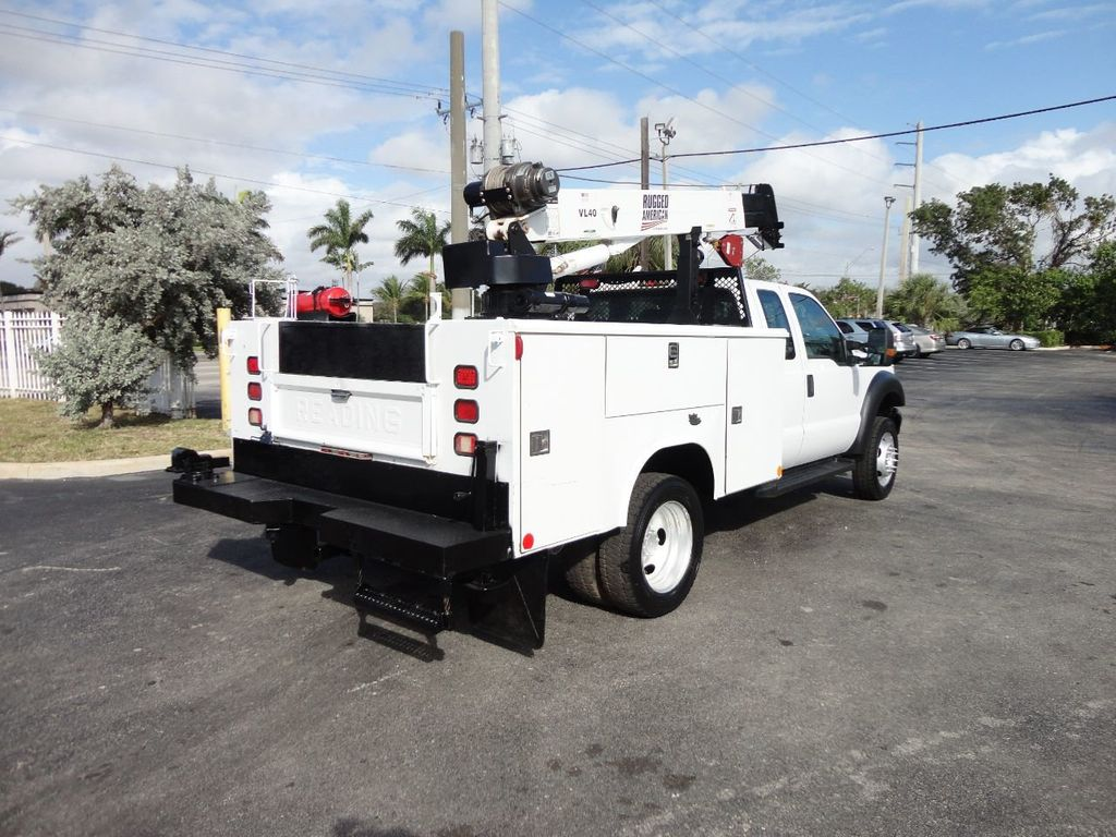 2011 Ford F450 4X4 11FT UTILITY TRUCK BED WITH 16FT 4,000LB CRANE - 17368049 - 7