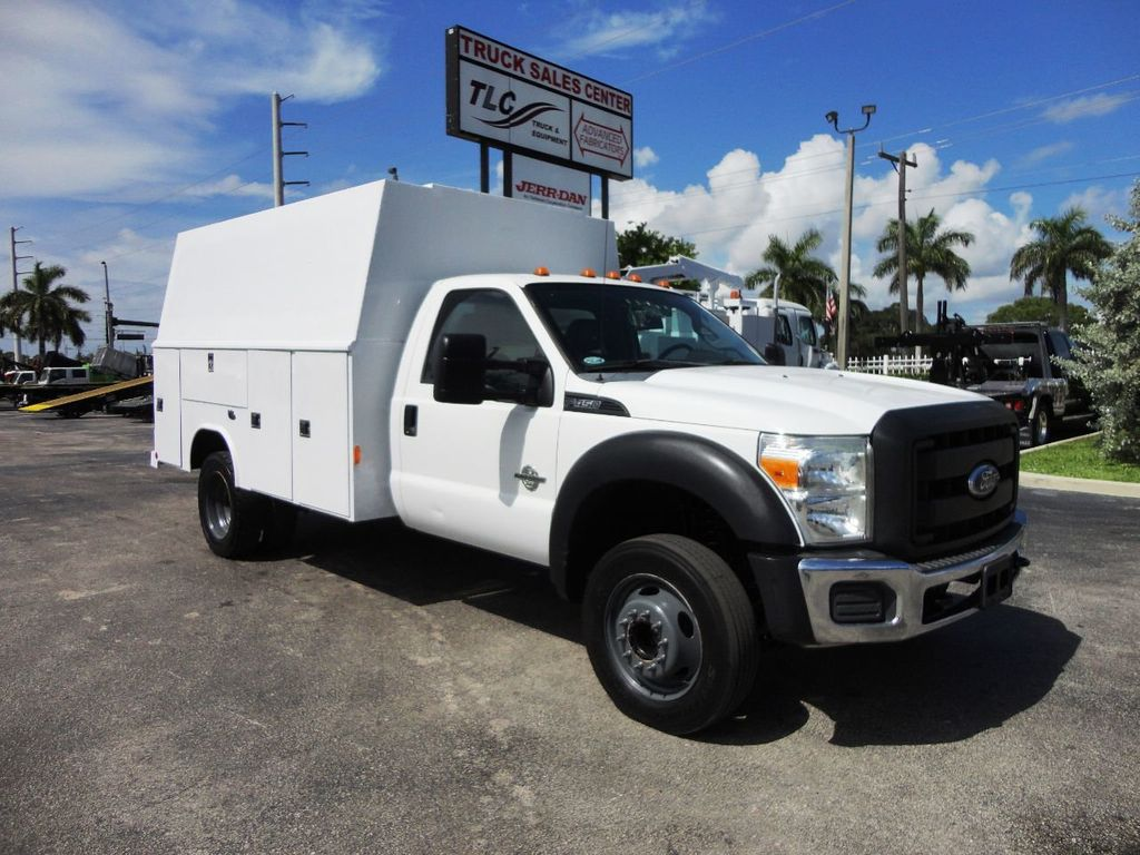 2011 Ford F450 *6.7L DIESEL*12FT ENCLOSED UTILITY SERVICE TRUCK - 19198600 - 0
