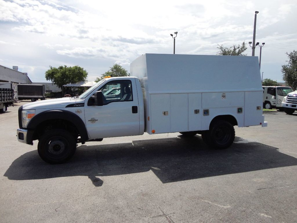 2011 Ford F450 *6.7L DIESEL*12FT ENCLOSED UTILITY SERVICE TRUCK - 19198600 - 1