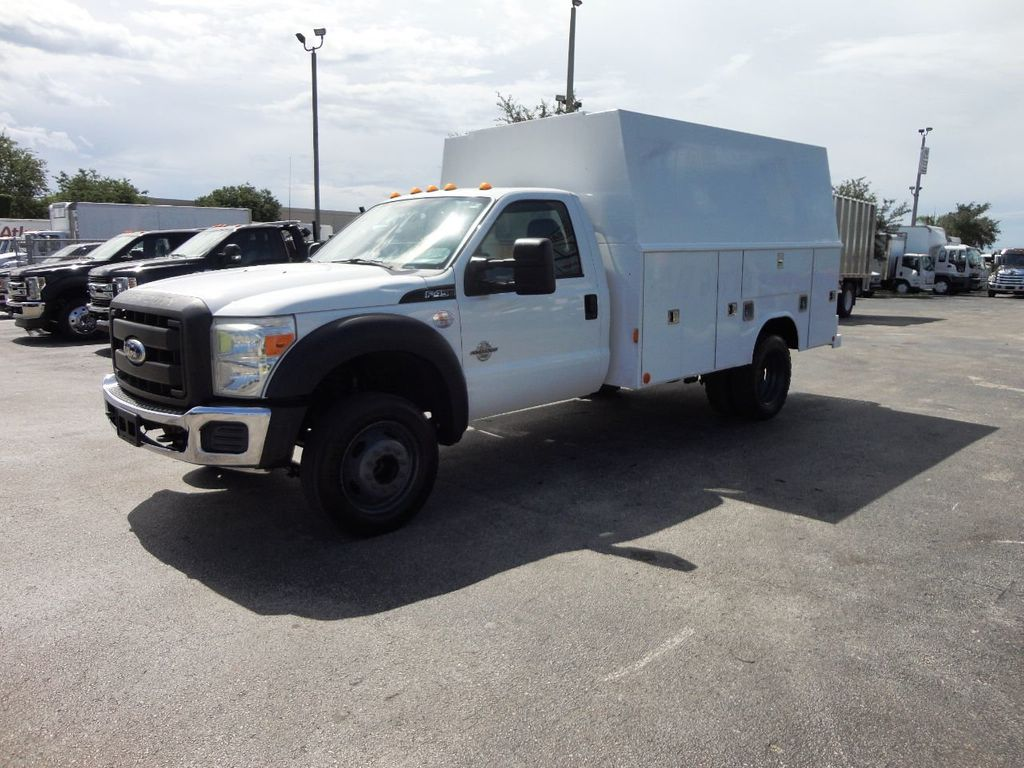 2011 Ford F450 *6.7L DIESEL*12FT ENCLOSED UTILITY SERVICE TRUCK - 19198600 - 2