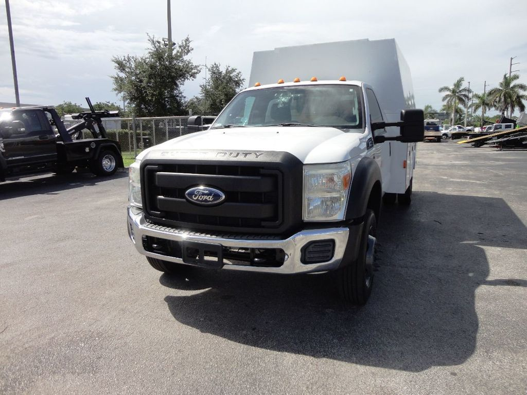 2011 Ford F450 *6.7L DIESEL*12FT ENCLOSED UTILITY SERVICE TRUCK - 19198600 - 3