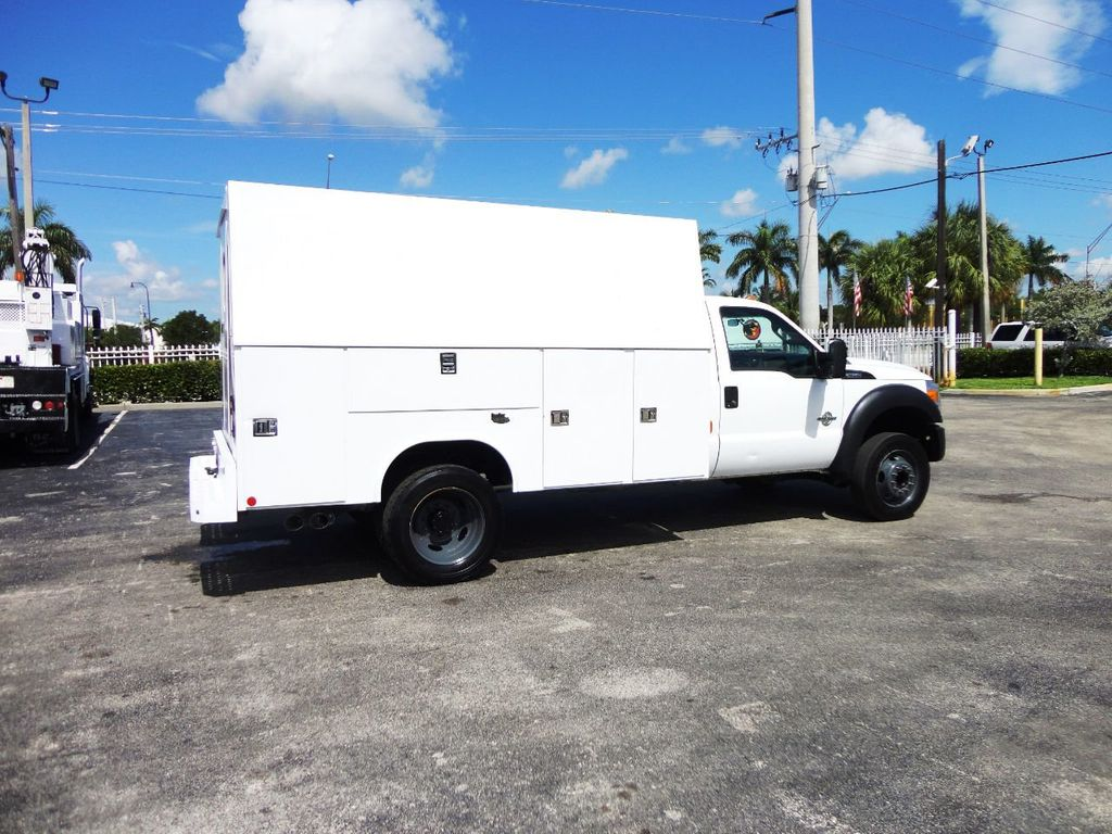 2011 Ford F450 *6.7L DIESEL*12FT ENCLOSED UTILITY SERVICE TRUCK - 19198600 - 6