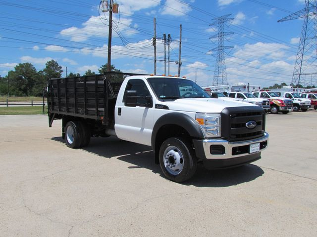 2011 Ford F450 Flatbed 4x2 - 16221264 - 1