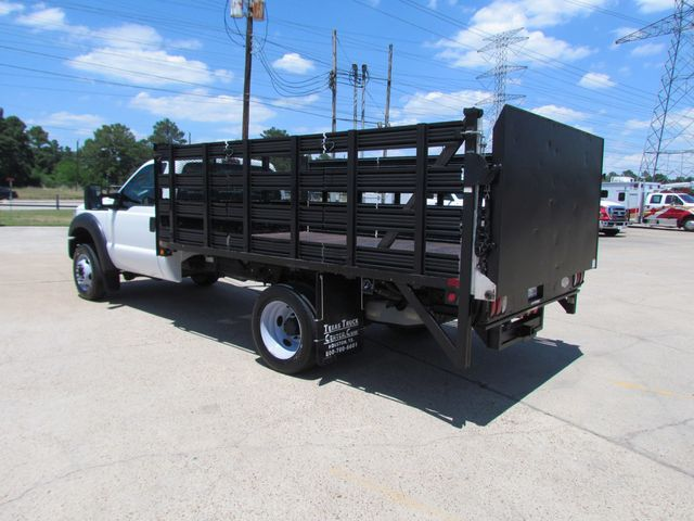 2011 Ford F450 Flatbed 4x2 - 16221264 - 6
