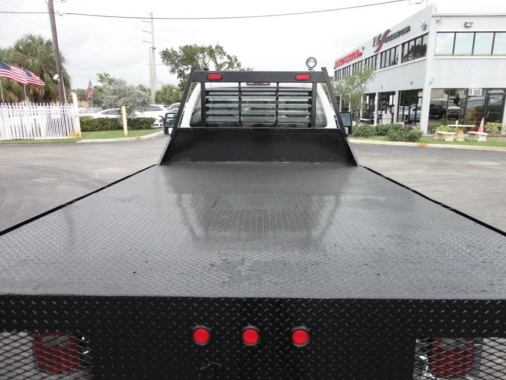 2011 Ford F550 ..4X2..12FT STEEL FLATBED WITH 5TH WHEEL. - 17267998 - 28