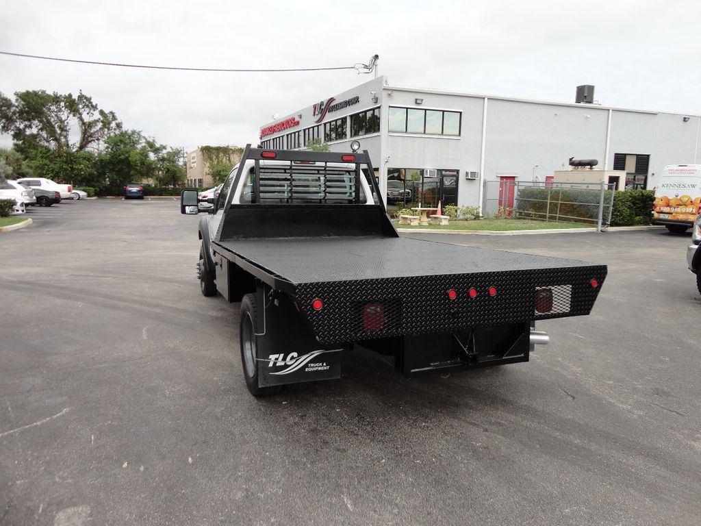 2011 Ford F550 ..4X2..12FT STEEL FLATBED WITH 5TH WHEEL. - 17267998 - 4