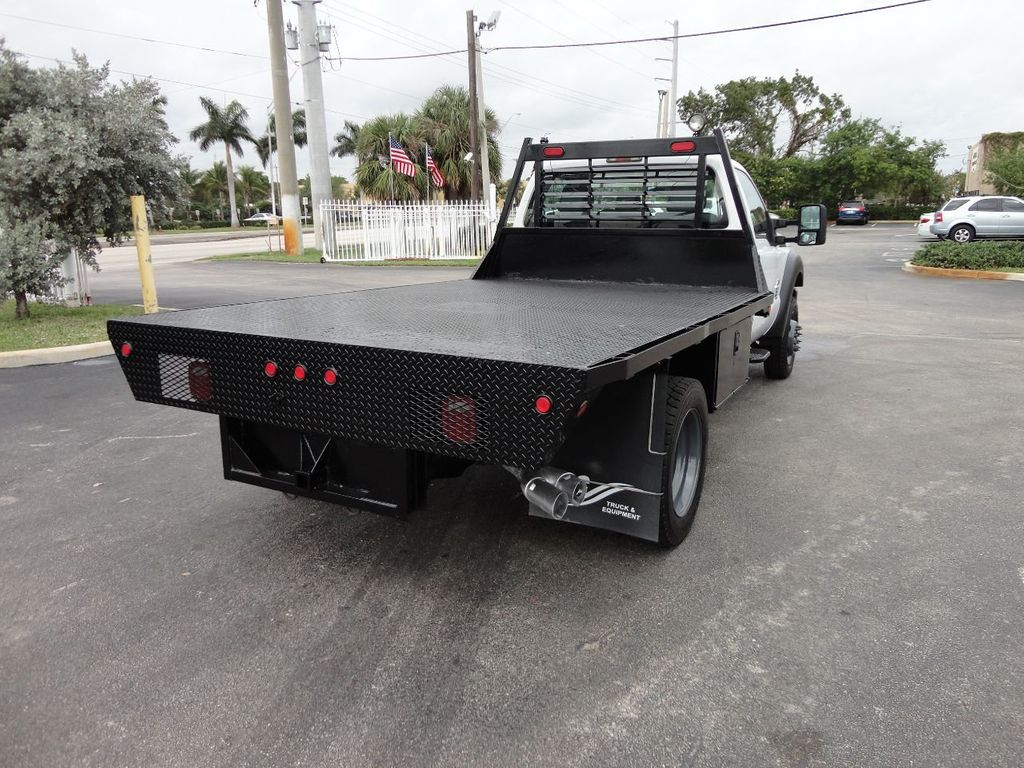 2011 Ford F550 ..4X2..12FT STEEL FLATBED WITH 5TH WHEEL. - 17267998 - 6