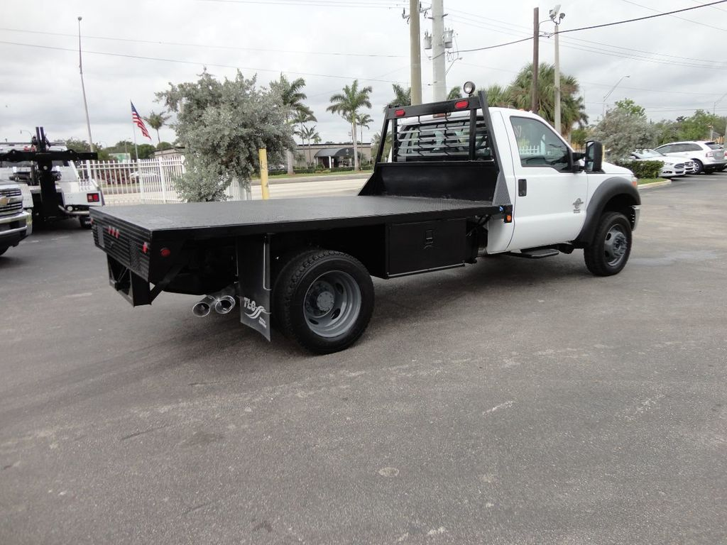 2011 Ford F550 ..4X2..12FT STEEL FLATBED WITH 5TH WHEEL. - 17267998 - 7