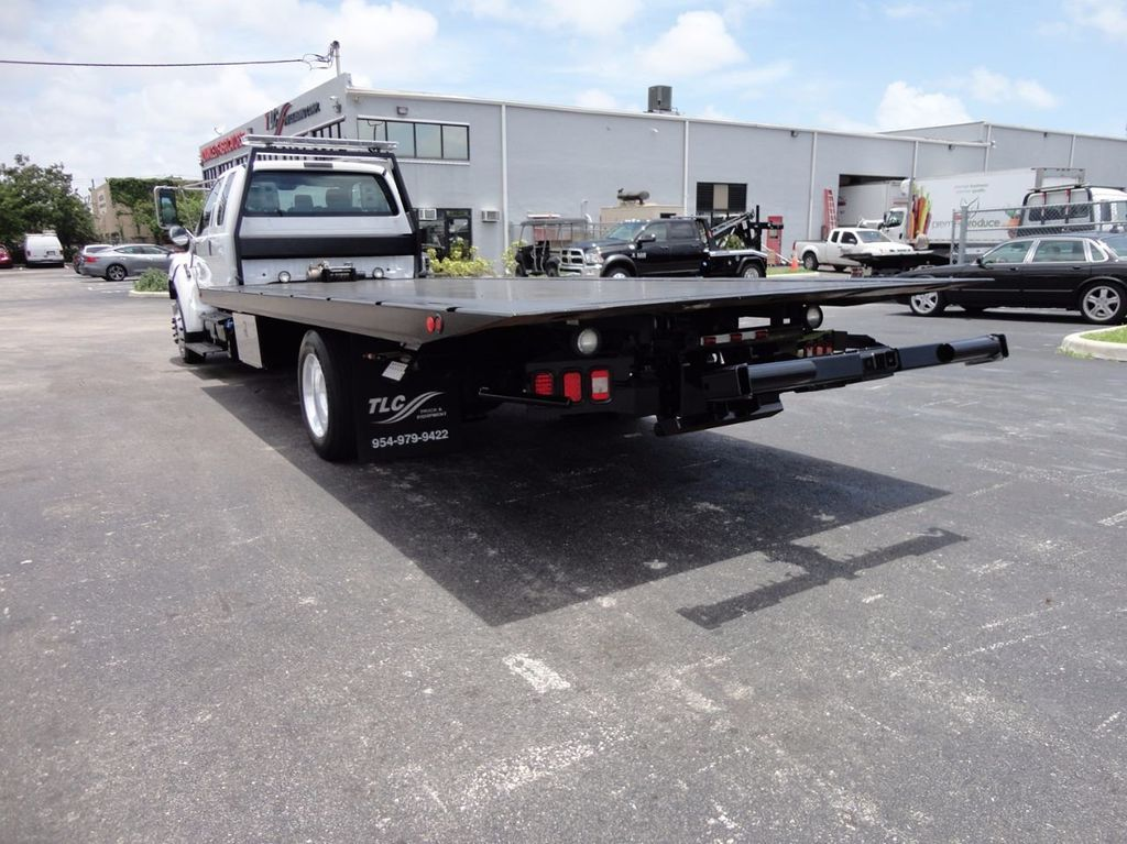 2011 Ford F650 XLT*SUPER CAB* AIR RIDE SUS* 21FT DUAL TECH ROLLBACK** - 16535386 - 26