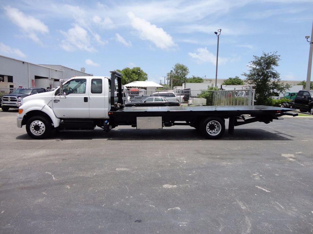 2011 Ford F650 XLT*SUPER CAB* AIR RIDE SUS* 21FT DUAL TECH ROLLBACK** - 16535386 - 27