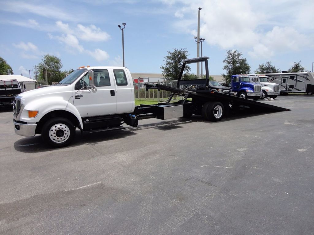 2011 Ford F650 XLT*SUPER CAB* AIR RIDE SUS* 21FT DUAL TECH ROLLBACK** - 16535386 - 2