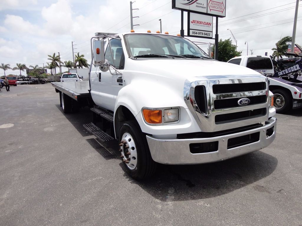 2011 Ford F650 XLT*SUPER CAB* AIR RIDE SUS* 21FT DUAL TECH ROLLBACK** - 16535386 - 41