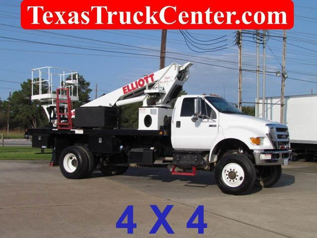 Dealer Video - 2011 Ford F750 Bucket Truck 4x4 - 14307507