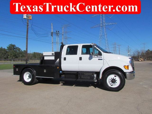 2011 Ford F750 Flatbed - 15174719 - 0