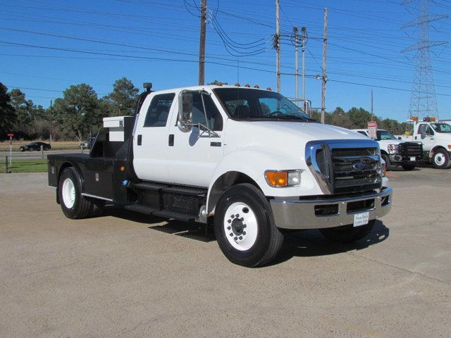 2011 Ford F750 Flatbed - 15174719 - 1