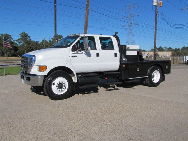 2011 Ford F750 Flatbed - 15174719 - 4