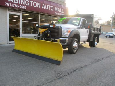 2011 Ford FORD F-550 DUMP TRUCK  - Click to see full-size photo viewer