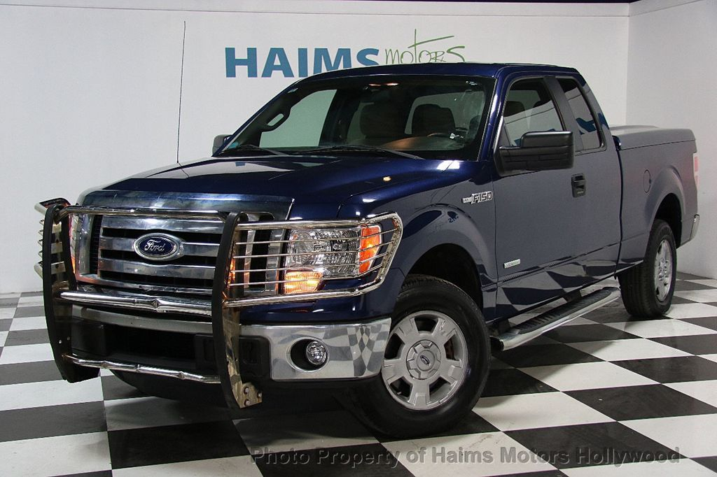 2011 used ford f 150 2wd supercab 145 xlt at haims motors serving fort lauderdale hollywood. Black Bedroom Furniture Sets. Home Design Ideas