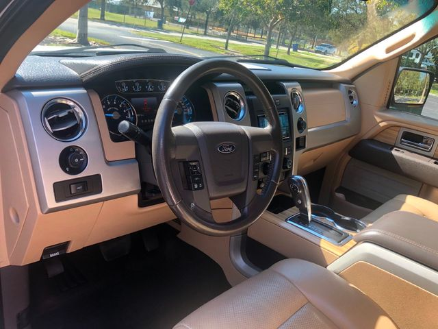 """2011 Ford F-150 2WD SuperCrew 145"""" Lariat - Click to see full-size photo viewer"""