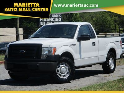"2011 Ford F-150 4WD Reg Cab 126"" XL - Click to see full-size photo viewer"